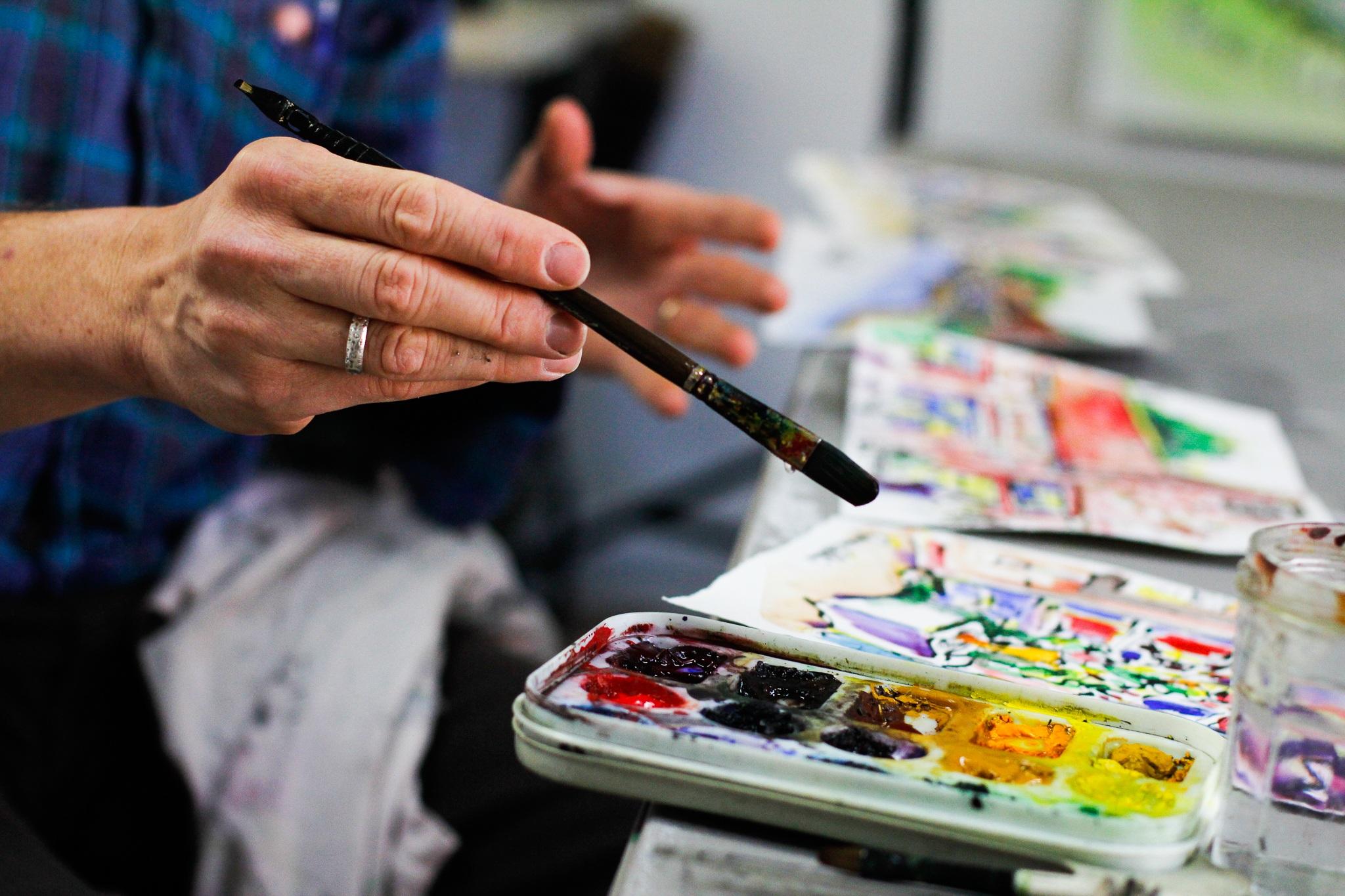 Workshop Créatif : à la rencontre d'une artiste !